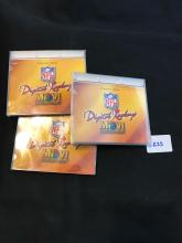 1996 Pro Motion Lot of 3 Rice Young Elway