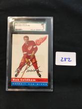 1954 Topps Hockey #46 Bob Goldham SGC 60 undergraded