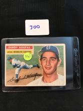 1956 Topps 79 Sandy Koufax 2nd year card