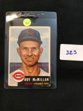 1953 Topps 259 Roy Mcmillan High Number