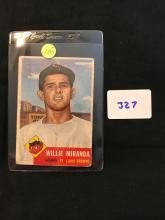 1953 Topps 278 Willie Miranda High Number