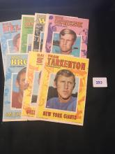 1971 Topps poster lot of 7