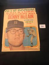 1971 Topps baseball Poster lot of 5