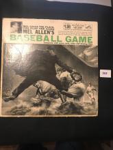 Mel Allens baseball Game LP