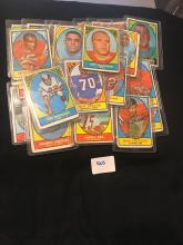 1967 Topps Football lot of 31 Assorted