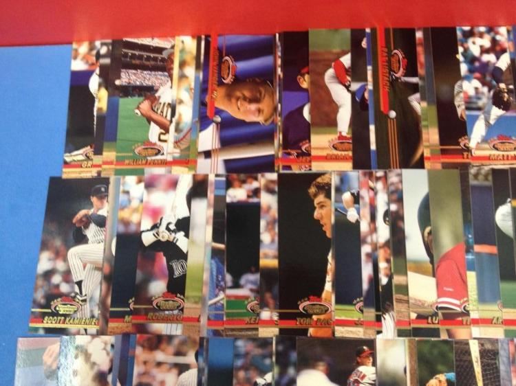 1993 Topps Stadium Club Baseball Card Collection Incomplete