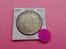1889 Morgan Dollar AU!