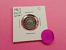 1869 Shield Nickel G!