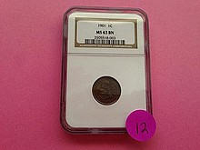 1901 Indian Head Cent MS63 NGC!