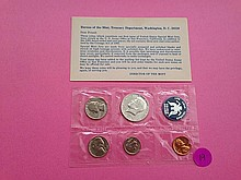 1965 Special Mint Set 40% Silver!