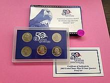 2005 State Quarter Proof Set!
