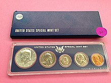 1966 Special Mint Set 40% Silver!