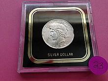 1925 Peace Dollar MS64!