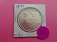 1896 Morgan Dollar MS62!