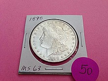 1898 Morgan Dollar MS64!