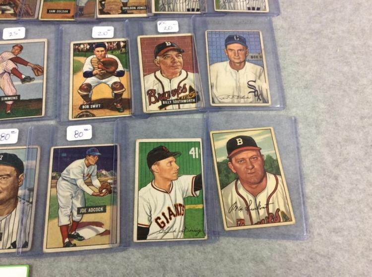 26 1951 Bowman Baseball Cards All For One Money