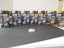 Star Wars (Clone Wars) figures w/ (2) Saga legends figures N.I.B. for one money