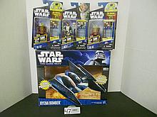 Star Wars Hyena Bomber vehicle and figures N.I.B. for one money