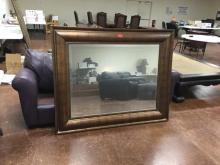 VINTAGE ANTIQUE HANGING SOFA MIRROR. This is what you've been searching for. 62 1/2