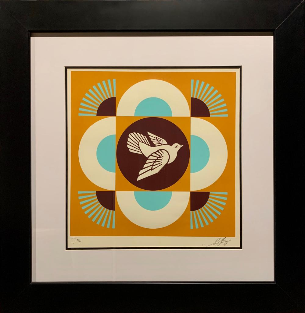 serigraph with Obey logo HAND-SIGNED Shepard Fairey