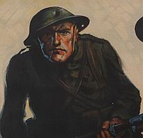 WWI Poster, Walter Whitehead (American, 1874-1934) Come On!
