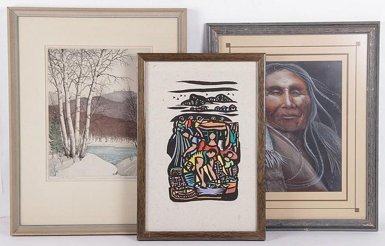 Estate Lot: Art Including Manuel Baldemor