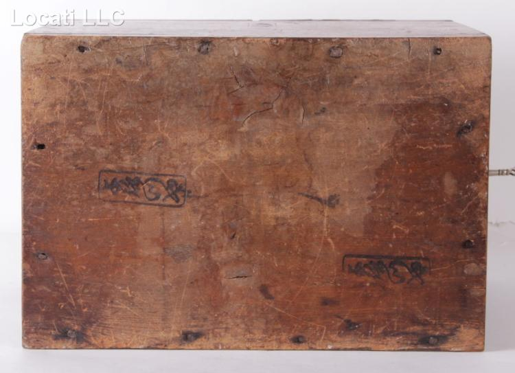 locks for kitchen cabinets a japanese zenibako wooden coin chest 22792