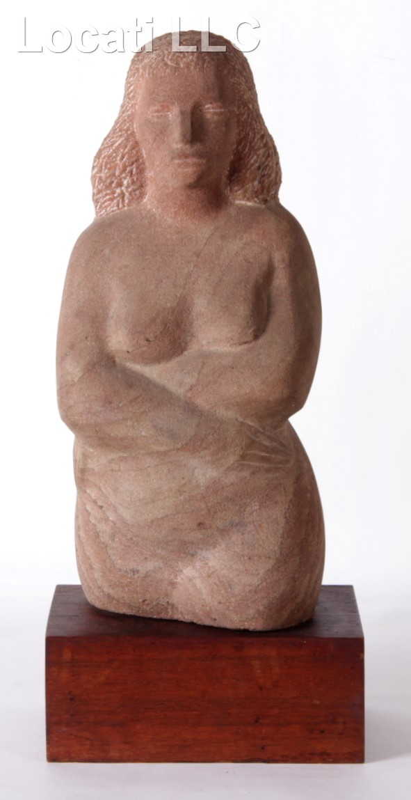 A Mid 20th Century Sandstone Sculpture