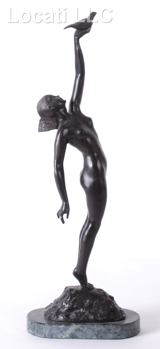 After Pierre Le Faguays, Art Deco Bronze