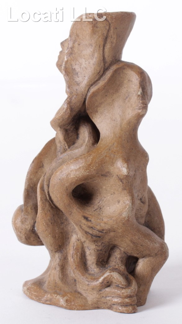 An Abstract Pottery Sculpture, 20th Century