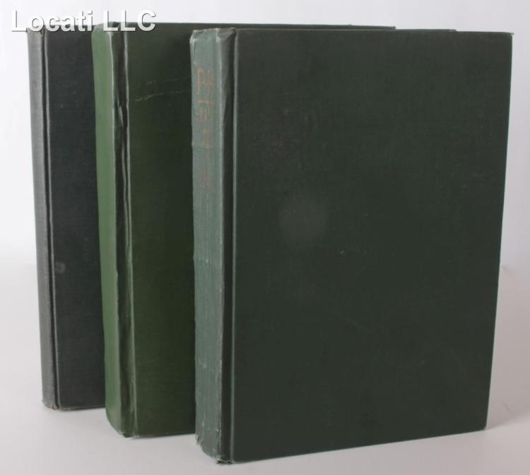 Books, Early 20th Century Art and Advertising, Three Volumes