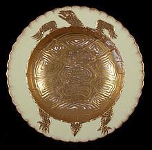 A Porcelain Turtle Soup Bowl by Bodley