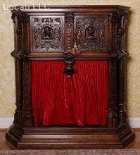 A Renaissance Revival Walnut Cabinet, 19th Century
