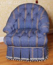 A Schumacher Upholstered Easy Chair