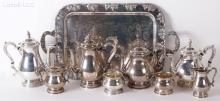 A Coffee and Tea Service by International Sterling,