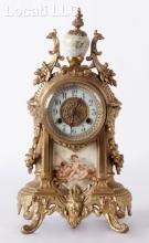 A Waterbury Mantle Clock