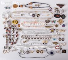 A Large Lot of Estate Costume Jewelry