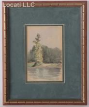 Thomas Bancroft (American 1864 - 1934) Watercolor