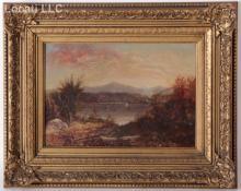 Hudson River School, (19th Century) Oil on Canvas