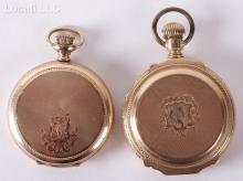 Two American Gold and Gold Filled Pocket Watches