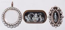 Three Pieces of 19th Century Jewelry Including Theodore B. Starr