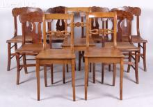 A Group of 19th Century Side Chairs