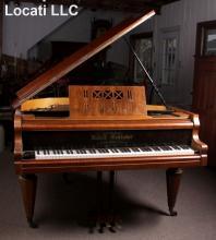 A Vienna Secessionist Movement Baby Grand Piano