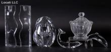 A Group of Baccarat Glass