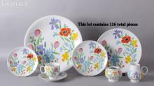 A Set of Mid Century Dinnerware by Heinrich - H and C,