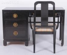 A  Chinese Style Desk and Chair