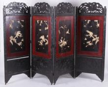 A Japanese Four Panel Screen
