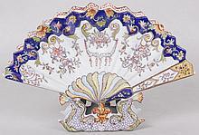 Quimper Fan Form Vase