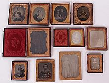 A Group of Daguerreotypes and Ambrotypes, Women and Children