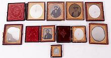 Nine Daguerreotypes, Portraits of Men